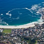 Images from on top of Table Mountain towards Camps Bay