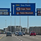 Inbound to Cape Town from the N1/N2