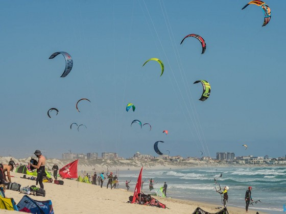 Kite Surfer on Table View Beach