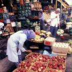 Fruit stalls on the Parade 1985
