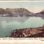 Postkarte Kapstadt von Breakwater um 1910