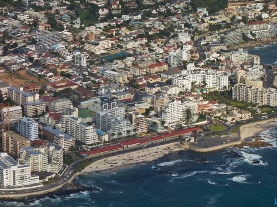 Helicopter flight: Sea Point