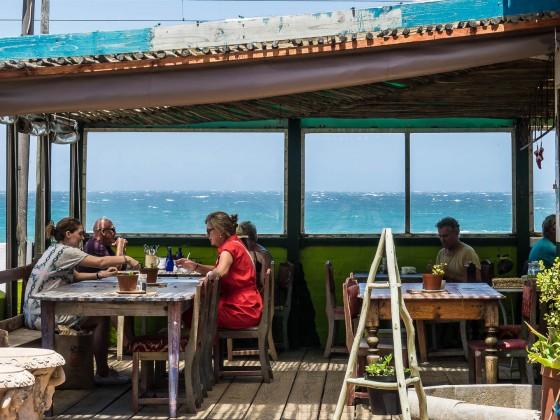 Restaurant near the beach in Kalk Bay
