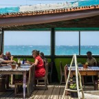 Restaurant near the beach in Kalk Bay