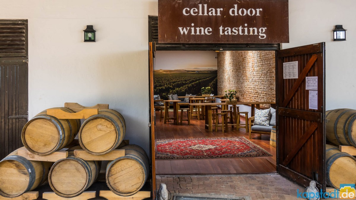 Meerendal Wine Estate - Winetasting room