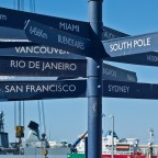Distances to around the world from the V&A Waterfront