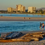 Evening at the Lagoon Beach in Milnerton