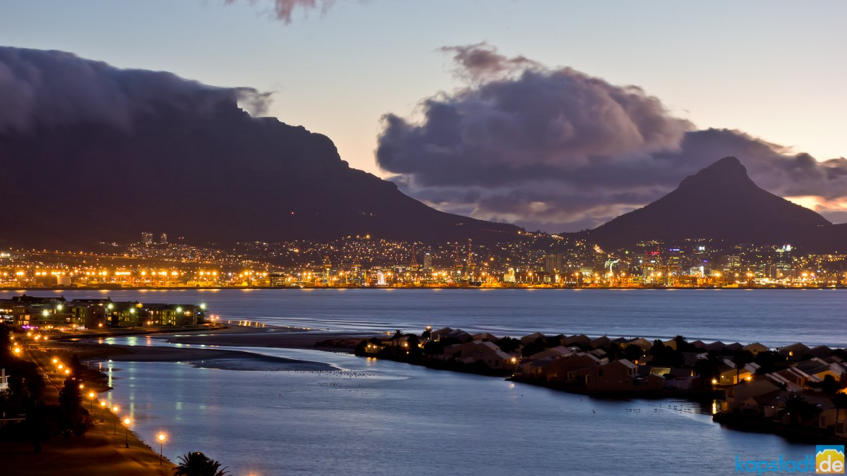 Milnerton Lagoon and Woodbridge Island