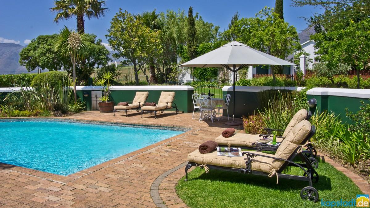 Eikendal Lodge in Stellenbosch (Winelands)