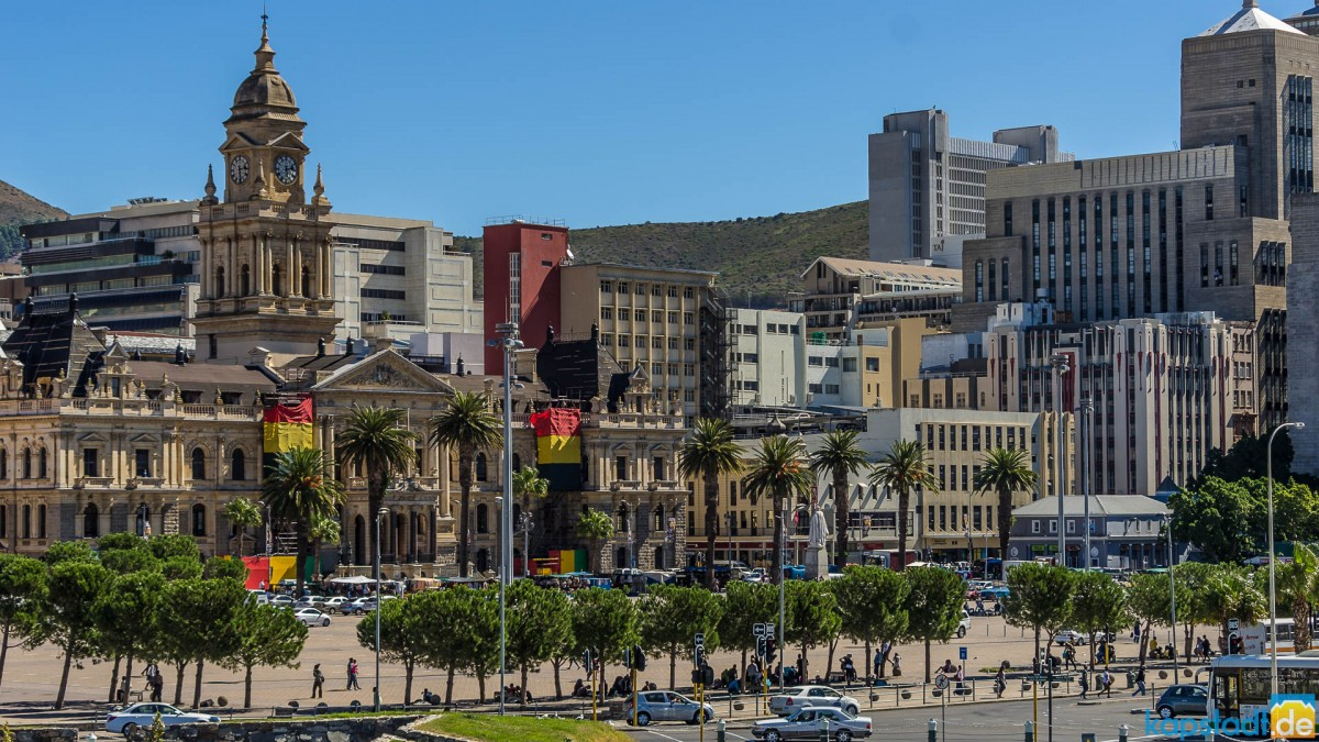 Impressions from the inner city around the Castle, Parade and District Six