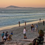 Sunset at the Milnerton beach front