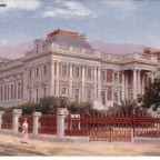 Postkarte Parliament House gelaufen 1904 nach England