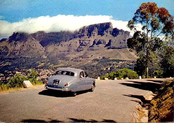 Cape Town, South Africa, in Colour 1950