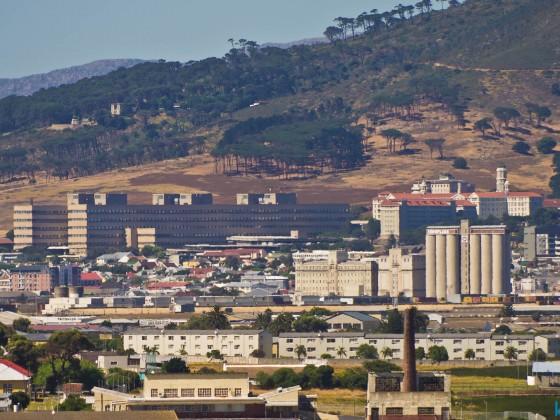 Groote Schuur Hospital seen from Milnerton