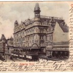 Postkarte Adderley Street 1904