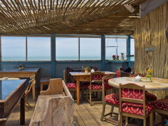 Small restaurant in Kalk Bay