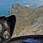 Helicopter flight: Hout Bay and the Sentinel