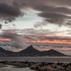 Sunset seen from Milnerton after some rain