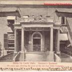 Postkarte Governors Residence gelaufen 1906 von Worchester nach London