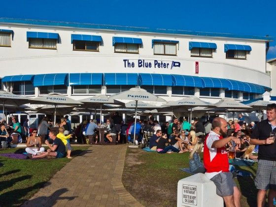 Blue Peter at Bloubergstrand