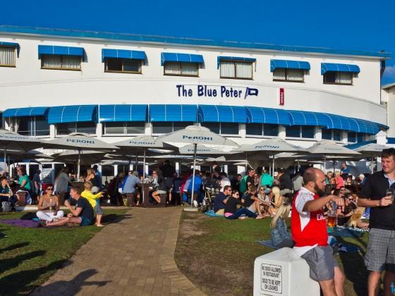 Blue Peter at Bloubergstrand