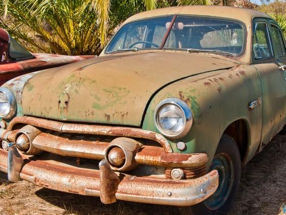 """""""Wijnland Auto Museum"""" vintage cars and scrap near Stellenbosch"""