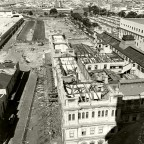 Demolition of the old Station, 1968
