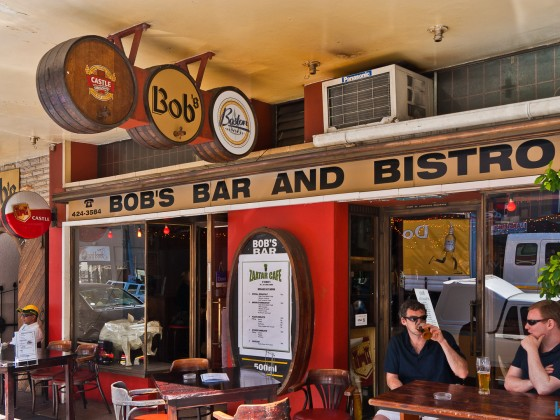 Bob's Bar and Bistro on Long Street