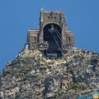 Upper cable car of Table Mountain - seen from the lower cable car station