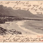 Postkarte Camps Bay 1903
