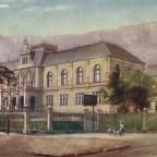 Postkarte The Museum gelaufen 1906 nach Glasgow