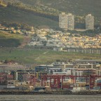 Salt and Pepper Towers in Vredehoek seen from Milnerton
