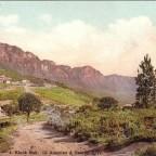 Postkarte Klook Nek-Camps Bay gelaufen 1903 nach Hamburg
