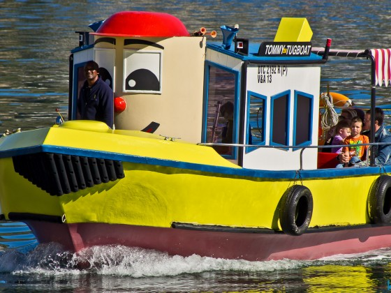 Tommy Tugboat for children at the V&A Waterfront