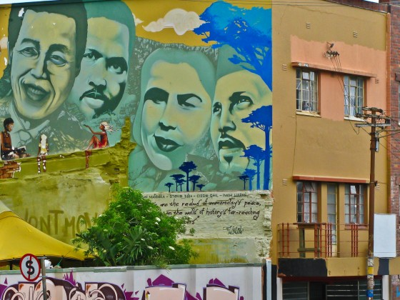Wall arts in District Six