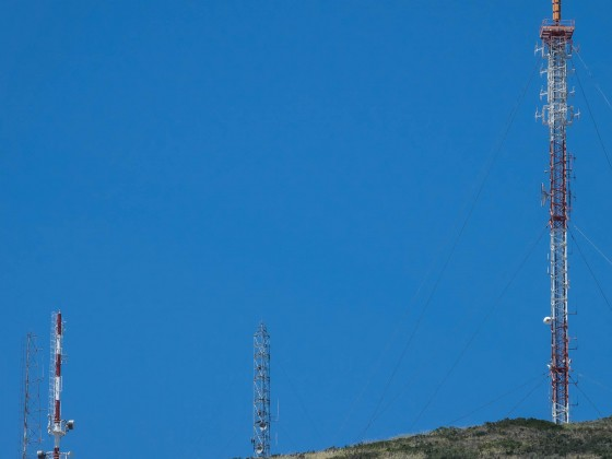 Tygerberg antennas (between Plattekloof and Durbanville)