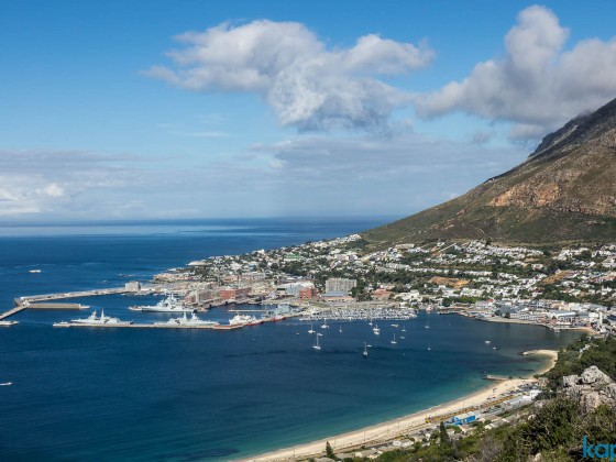 Simon's Town from the (Red Hill) outlook