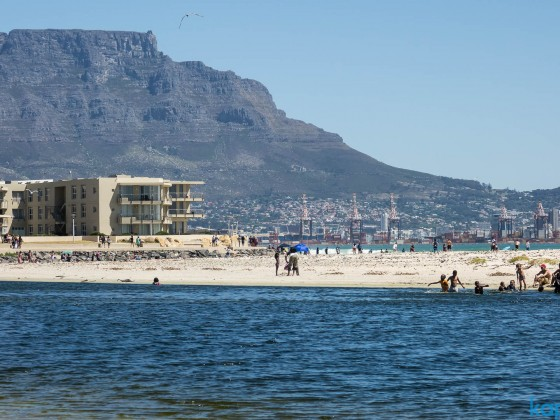 Lagoon Beach in Milnerton