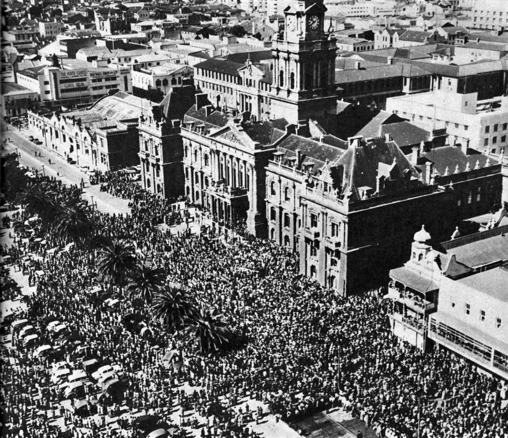 Funeral of Jan Smuts 1950