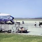 Boeing 707 at D F Malan c1968