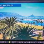 Cape Town Webcam on eNCA Television News
