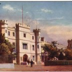 Postkarte New Somerset Hospital gelaufen 1904 nach England