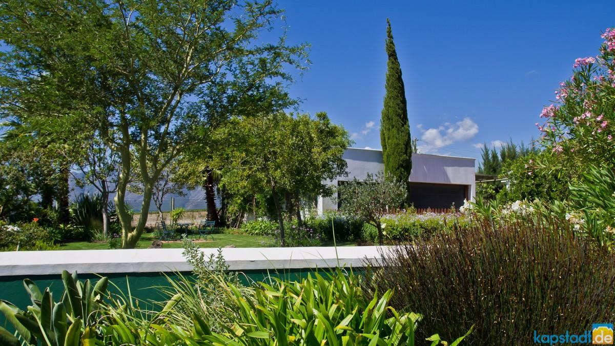 Impressions from Eikendal Lodge near Stellenbosch
