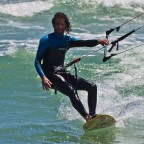 Kitesurfer in Table View
