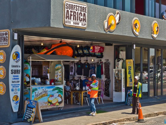 Surf-Shop in Muizenberg