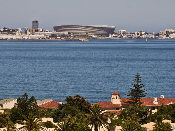 Green Point Stadium with Woodbridge Island