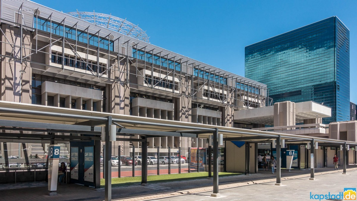 Civic Centre and MyCiti station