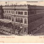 Postkarte Bahnhof Kapstadt 1903