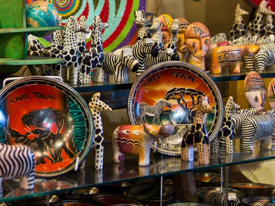 Art and souvenirs at the V&A Waterfront