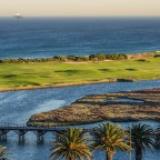 Milnerton golf course right after sunrise